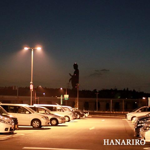 20100302 p1 夜空に浮かぶ大仏様・・・。